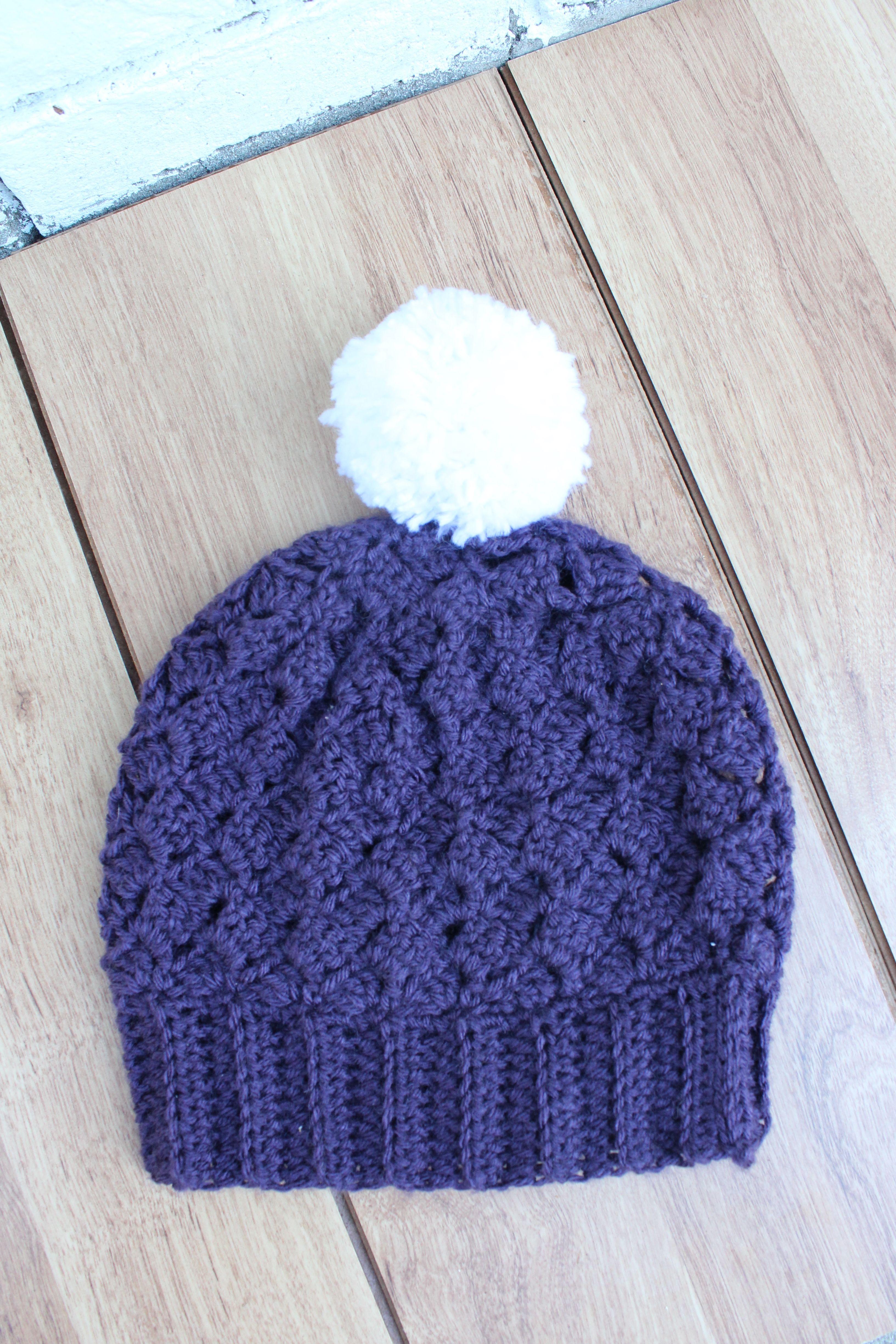 free crochet pattern hat | Crochet | Pinterest | Gorros