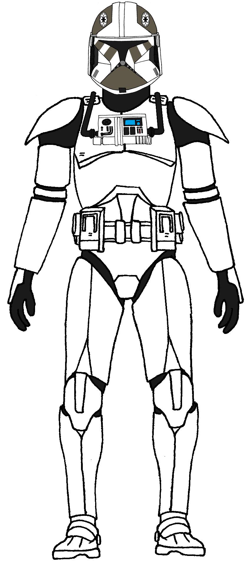 Clone Trooper Pilot Shadow Squadron Star Wars Clone Wars Star Wars Pictures Star Wars Drawings