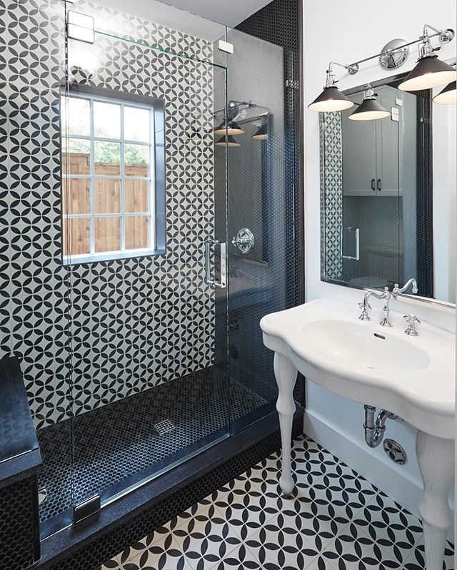 Installing Tile Bathroom Floor: Cement Tile Shop. Image By @aaron_dougherty_photo. Install