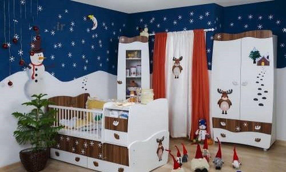 دکوراسیون اتاق خواب کودک پسر