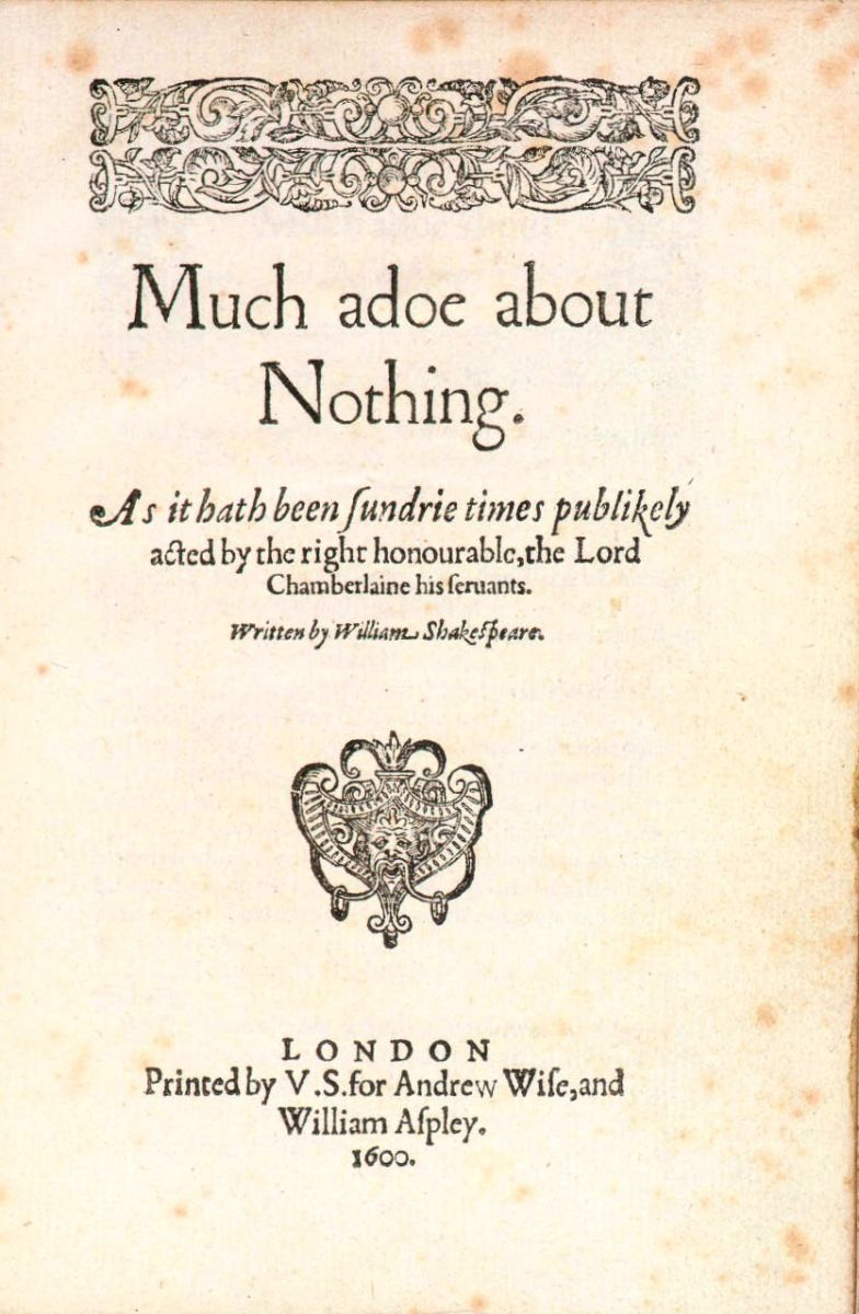 Review: Much Ado About Nothing. Shakespeare PlaysWilliam ShakespeareSummer  Reading ListsReading Books10th Grade EnglishBook ...