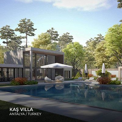 Kaş Villa in 2020 | Interior architecture design ...