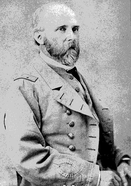 Captain Catesby Jones, commander of the CSS VIRGINIA. After Flag Officer Buchanan suffered a wound on the battle's first day, March 8, 1862, Captain Jones assumed command of the James River Squadron and fought the MONITOR. Buchanan, having been taken to a hospital ashore, was not present during this historic clash between ironclads.
