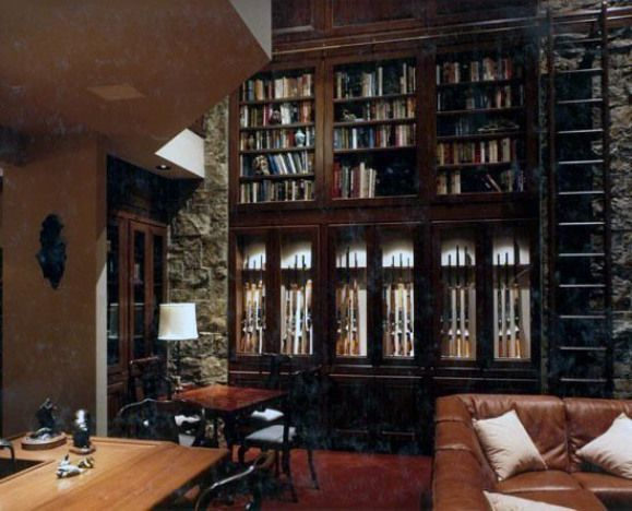 Photo of Man Cave Library Gun Room #recreationalroom #recreational #room #furniture,  #Cave #furniture…