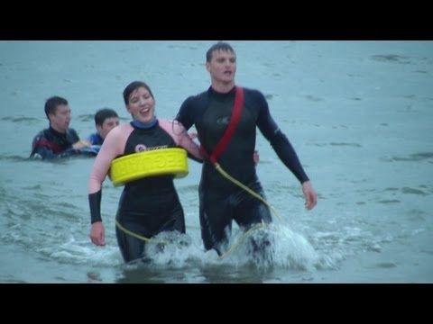 National Beach Lifeguard Qualification Course Nov 2012 www.eastdevontraining.org.uk