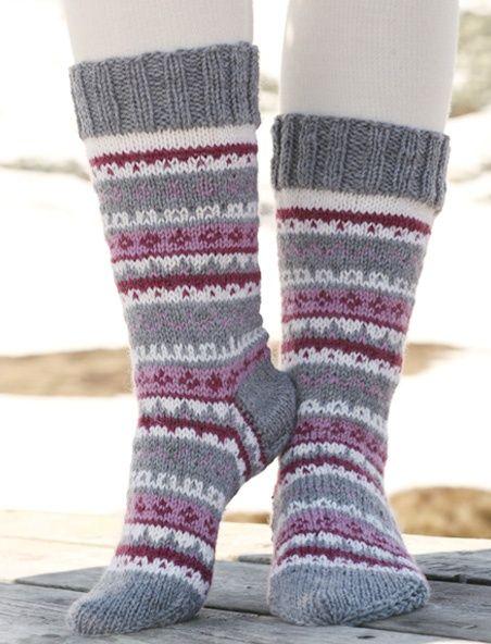 Örgü Çorap Modelleri | Pinterest | Stricken