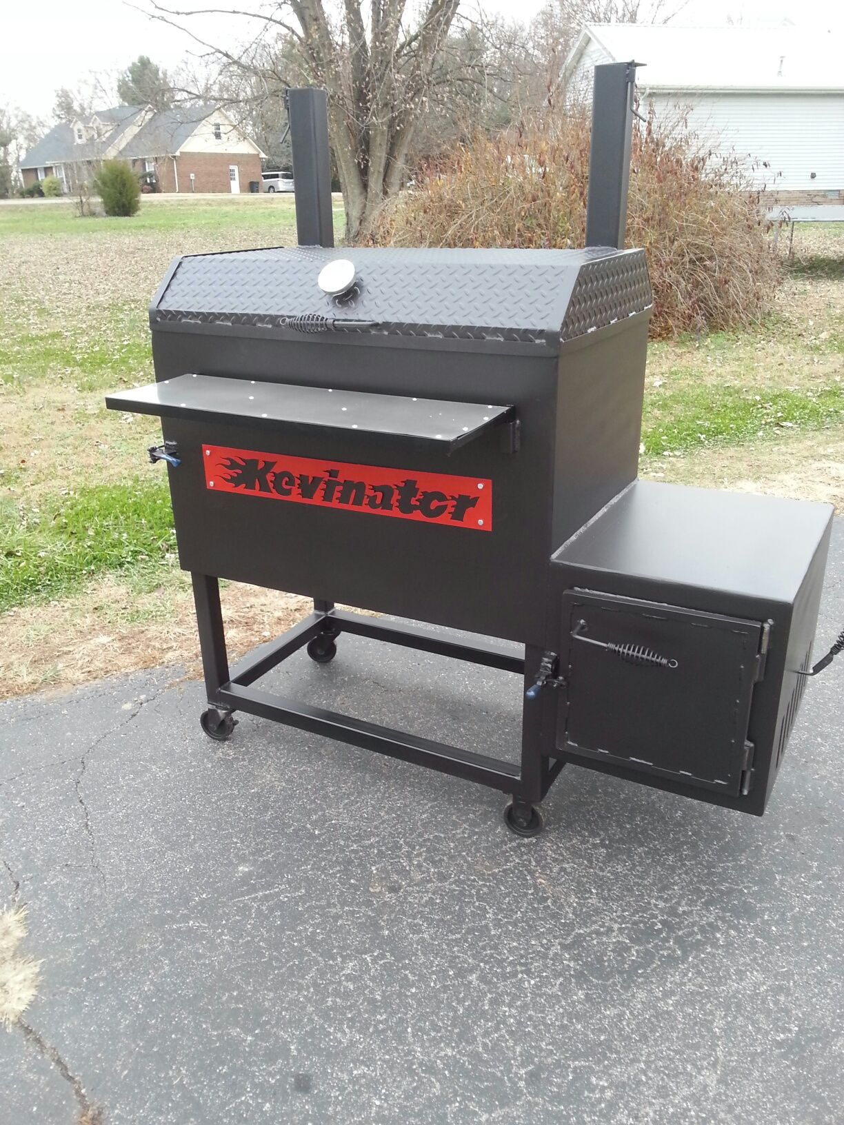 TSI 40 Patio Smoker #smoker #BBQ