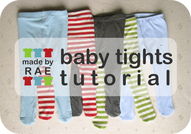 Tutorial by Rae: Make baby tights | Baby DIY | Pinterest ...