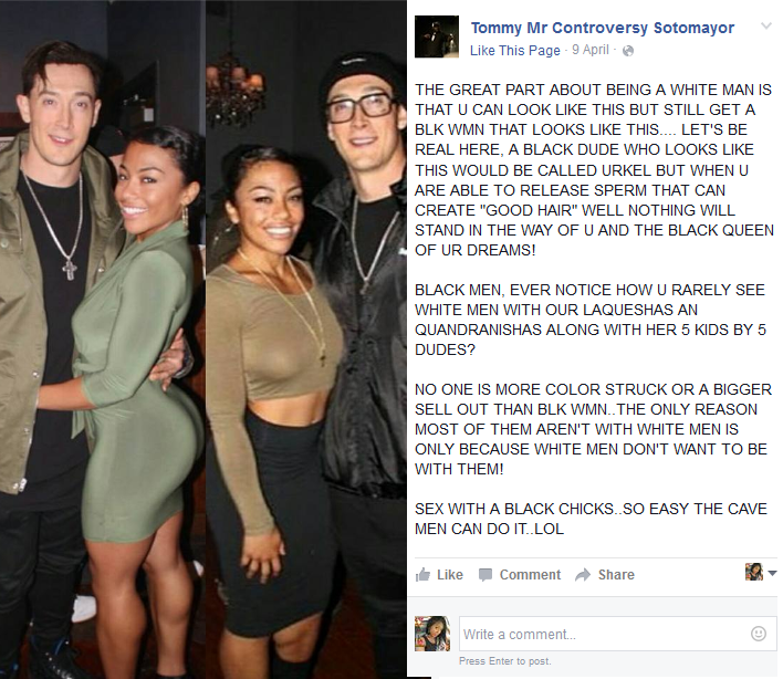 Man Calls Out Beautiful Black Women For Dating White Men -9926