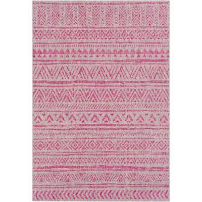 Photo of Tejedores artísticos Cranleigh Bright Pink Alfombra de 2 pies x 3 pies para áreas interiores / exteriores-S00151068766 – The Home Depot