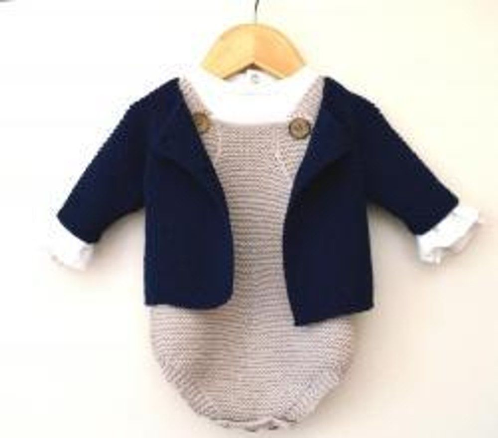 Spring into Summer - Rompers and Jacket P095 Knitting ...