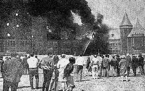 New Rochelle High School Fire - 1968.