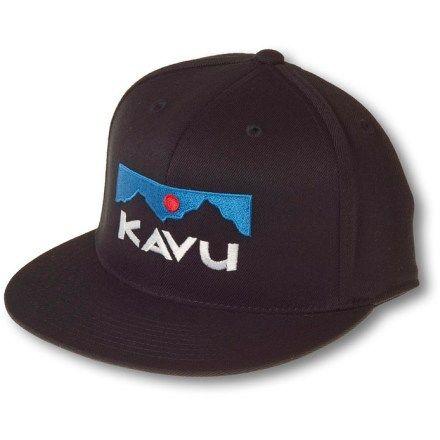 efe9506e7321f KAVU The KFH Hat Black S