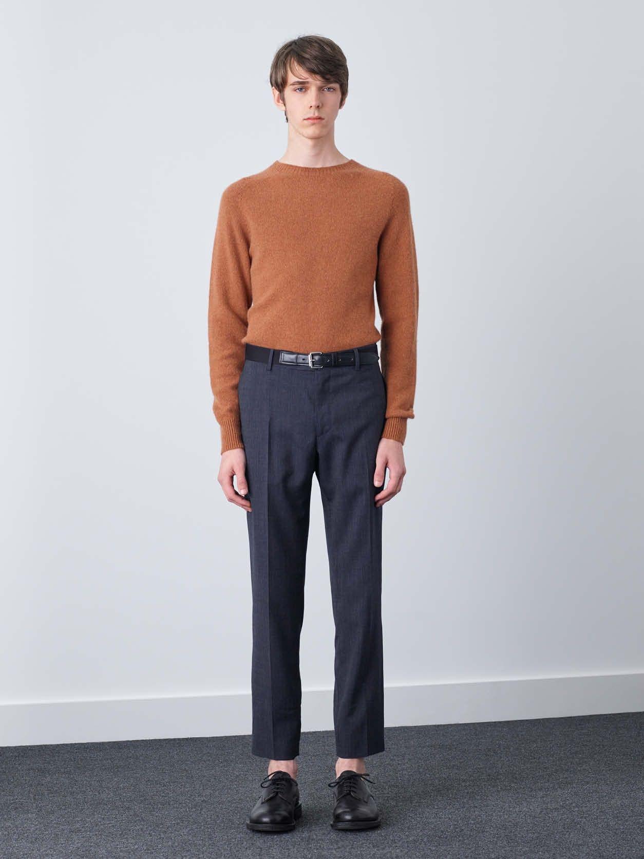 MARGARET HOWELL - SADDLE NECK CREW - Knitwear