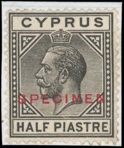 Cyprus Half Piastre Stamp To Make $85,190 In London Auction