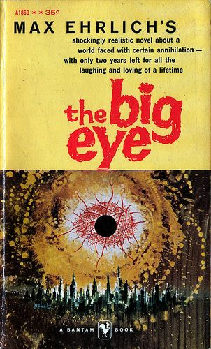 The Big Eye, Max Ehrlich (1958), cover by Mitchell Hooks