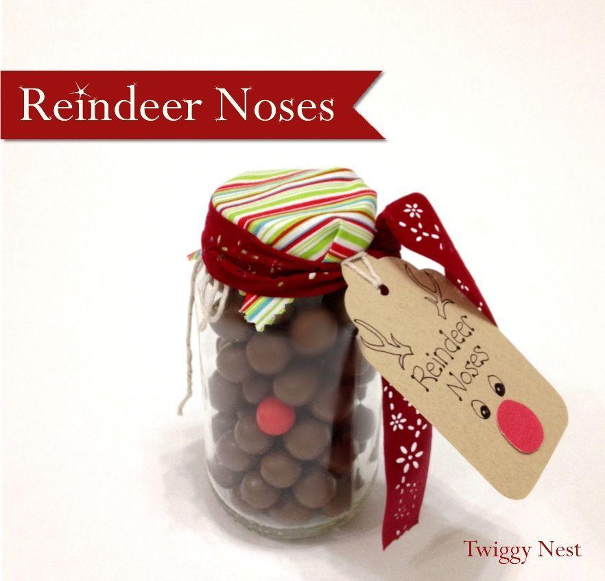 Reindeer Noses never tasted so good….. | Craft | Pinterest