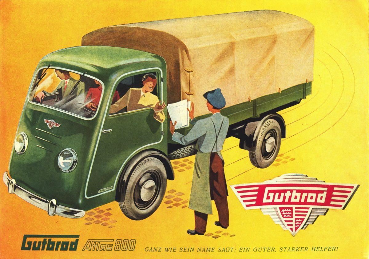 Gutbrod Atlas 800 1950