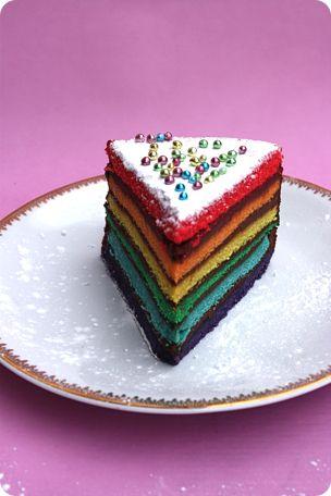 Rainbow cake pour les 2 ans de ma fille anniv 1 an - Gateau anniversaire 2 ans ...