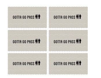 graphic regarding Printable Bathroom Passes referred to as Printable Rest room P Print currently! Toilet p