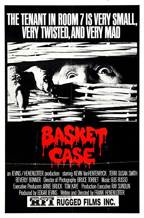 Basket Case Classic Horror Movie Wall Art Museum Outlets Classic Horror Movies Posters Classic Horror Movies Indie Movie Posters