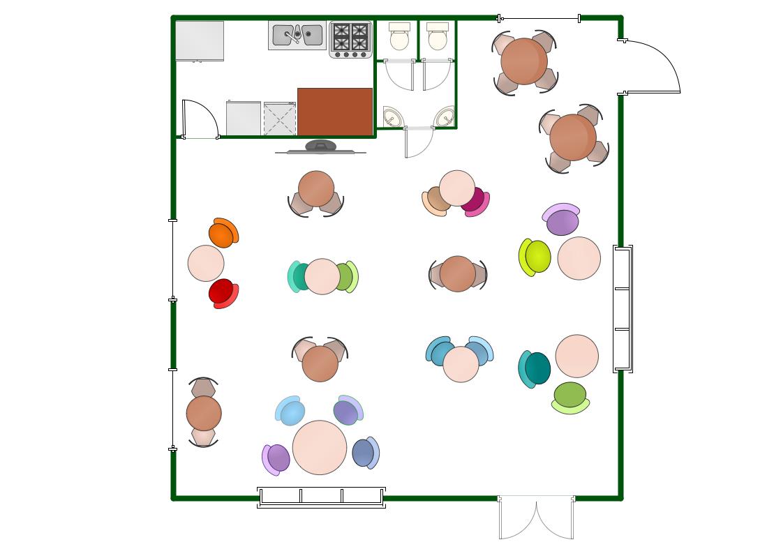 restaurant floor plan floorplans pinterest