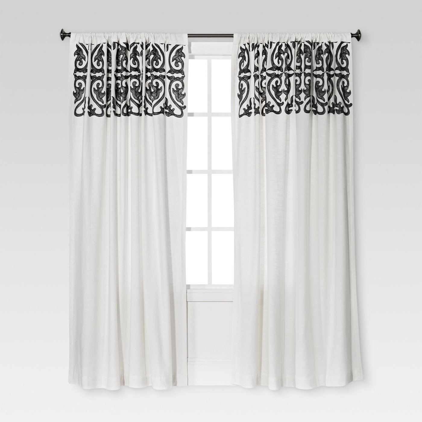 84 in 2021 living room decor curtains