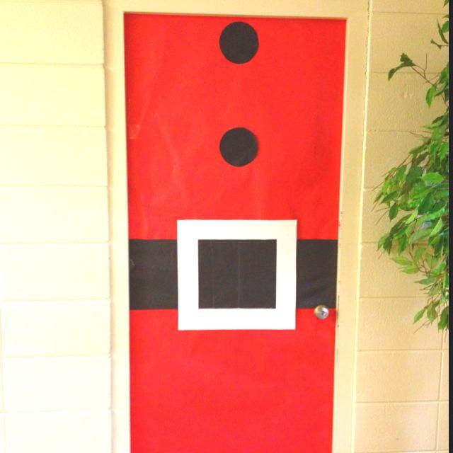 Santa Door Holiday Classroom Doors Christmas Classroom Door Christmas Classroom