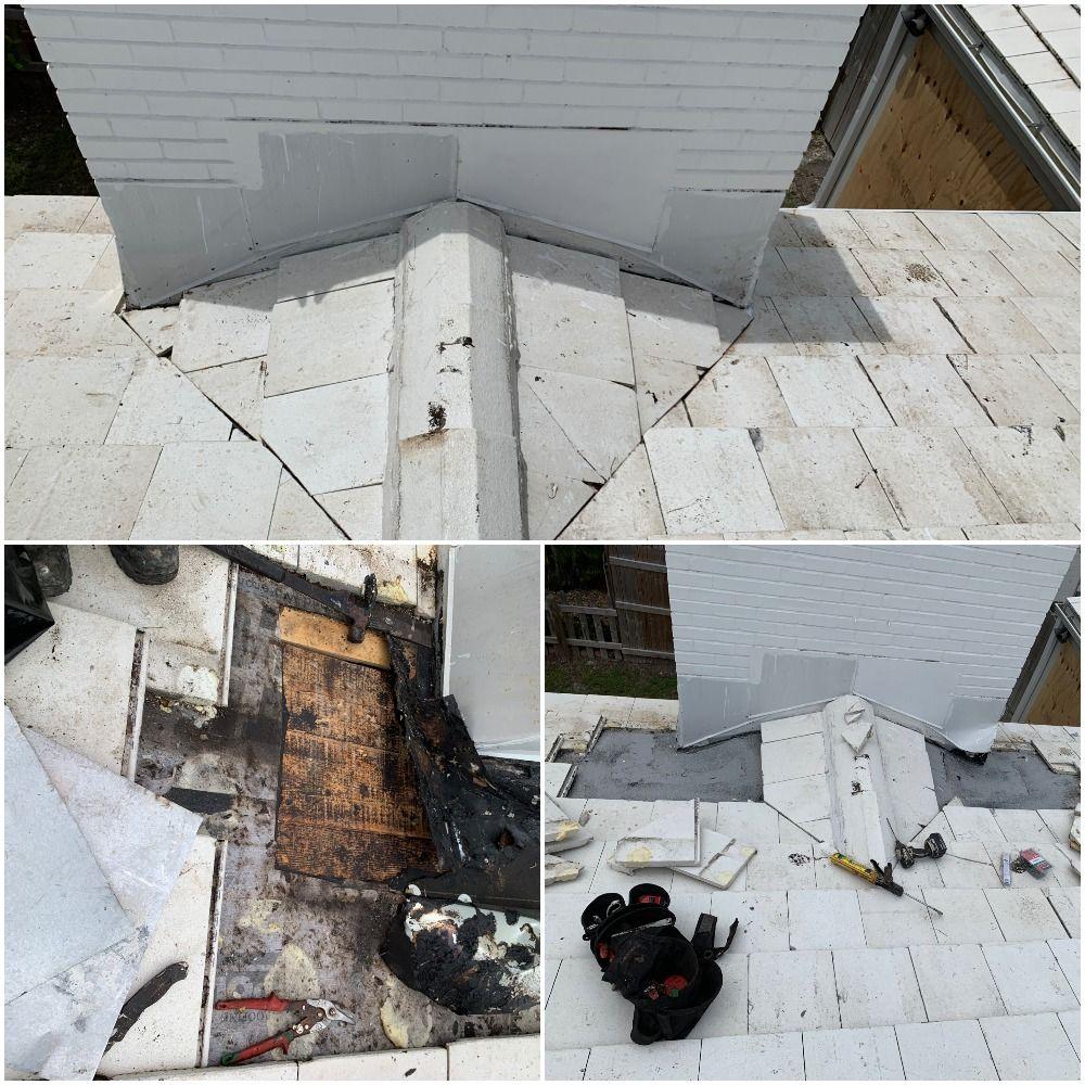 Leaking Chimney Repair Delray Beach Fl Delray Beach Fl Roof Leak Repair Delray Beach