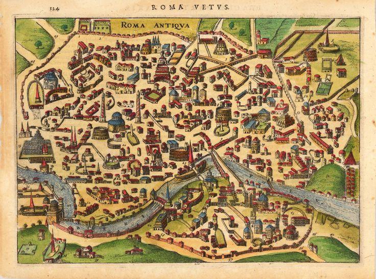 Bildergebnis Fur Paolino Da Venezia Karte Rom Bildkarten Antike