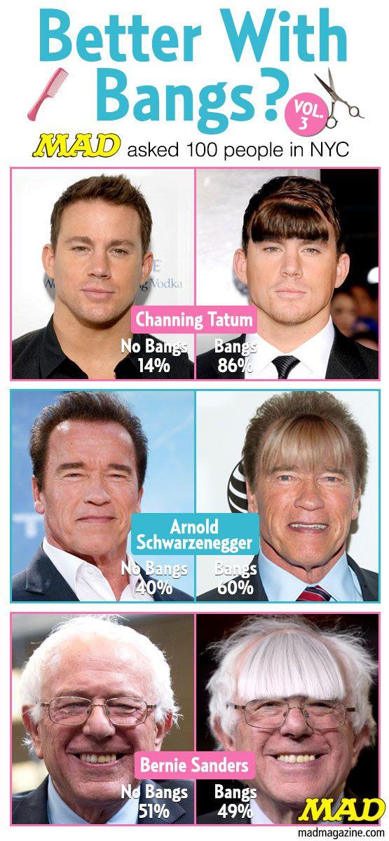 Better With Bangs Vol 3 Schwarzenegger Meme Arnold Schwarzenegger Funny Memes