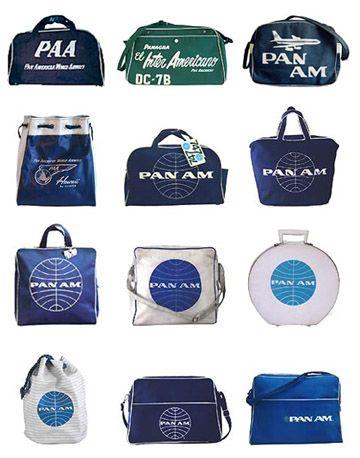 74332077c7 Pan Am bags