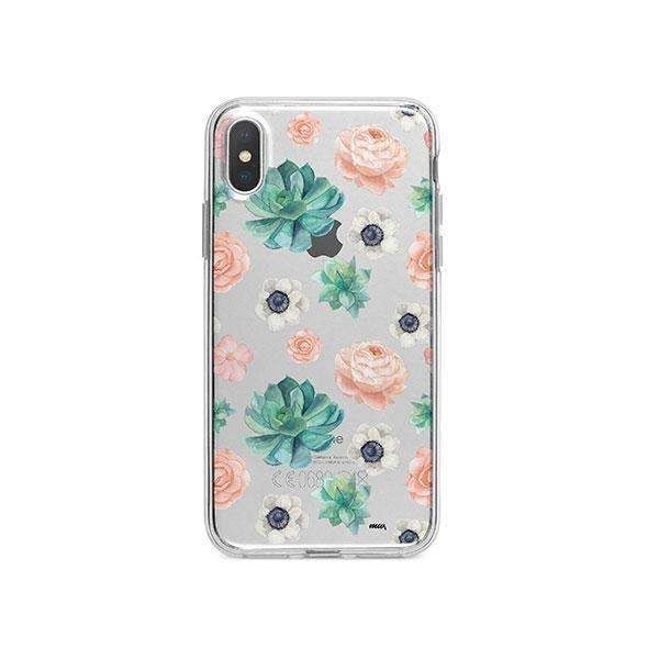 detailed look 78ecb a6788 Succulent Overload Iphone X Phone Case Clear in 2019 | Everything ...