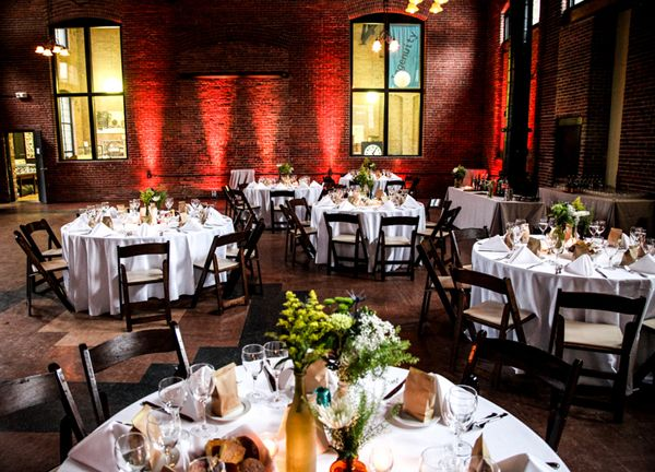 A Unique Oh So Pretty DIY Wedding At The Charles River Museum Of Industry