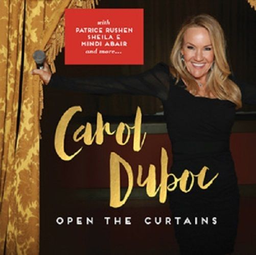 Smooth Jazz Vocals Carol Duboc Open The Curtains CD BRAND NEW Patrice Rushen #SmoothJazz