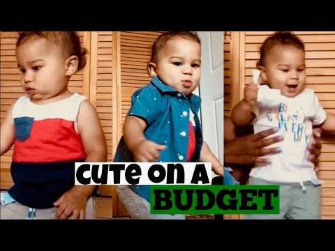 d11a67c44 Cute Baby Boy Clothes Haul + FASHION SHOW