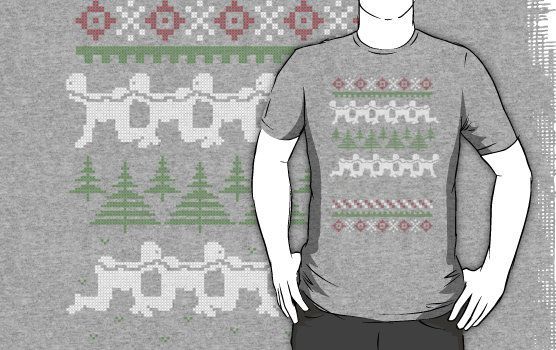 Human Centipede Christmas Sweater - Grey by PenguinPlot | Things I ...