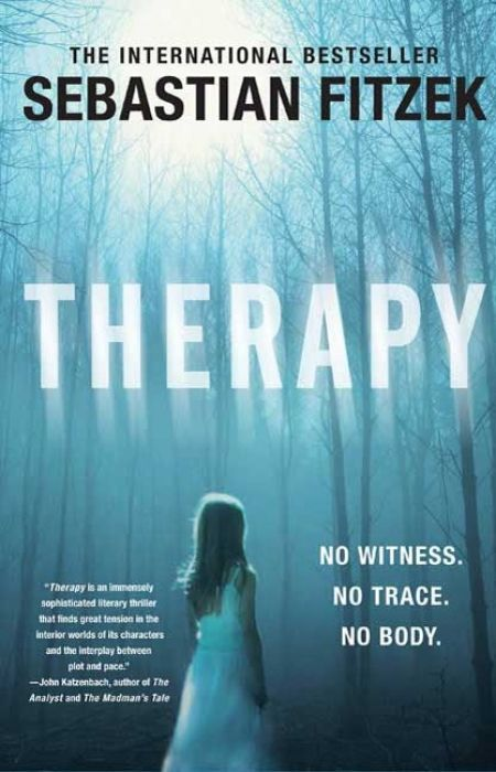 Therapy - Sebastian Fitzek Excellent thriller from Germany