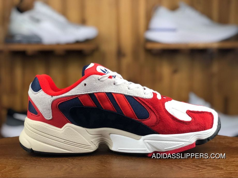 00db1656439a9 Adidas Yung-1 Simplified Yeezy Boost 600 Torre Fashion Color Red Retro  Running Shoes B37615 Size New Style