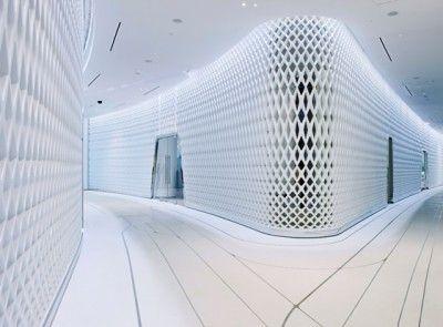 Modern Hotel Design: The Yas Hotel in Abu Dhabi