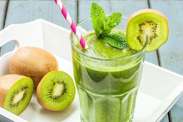 smoothie detox kiwi banane citron