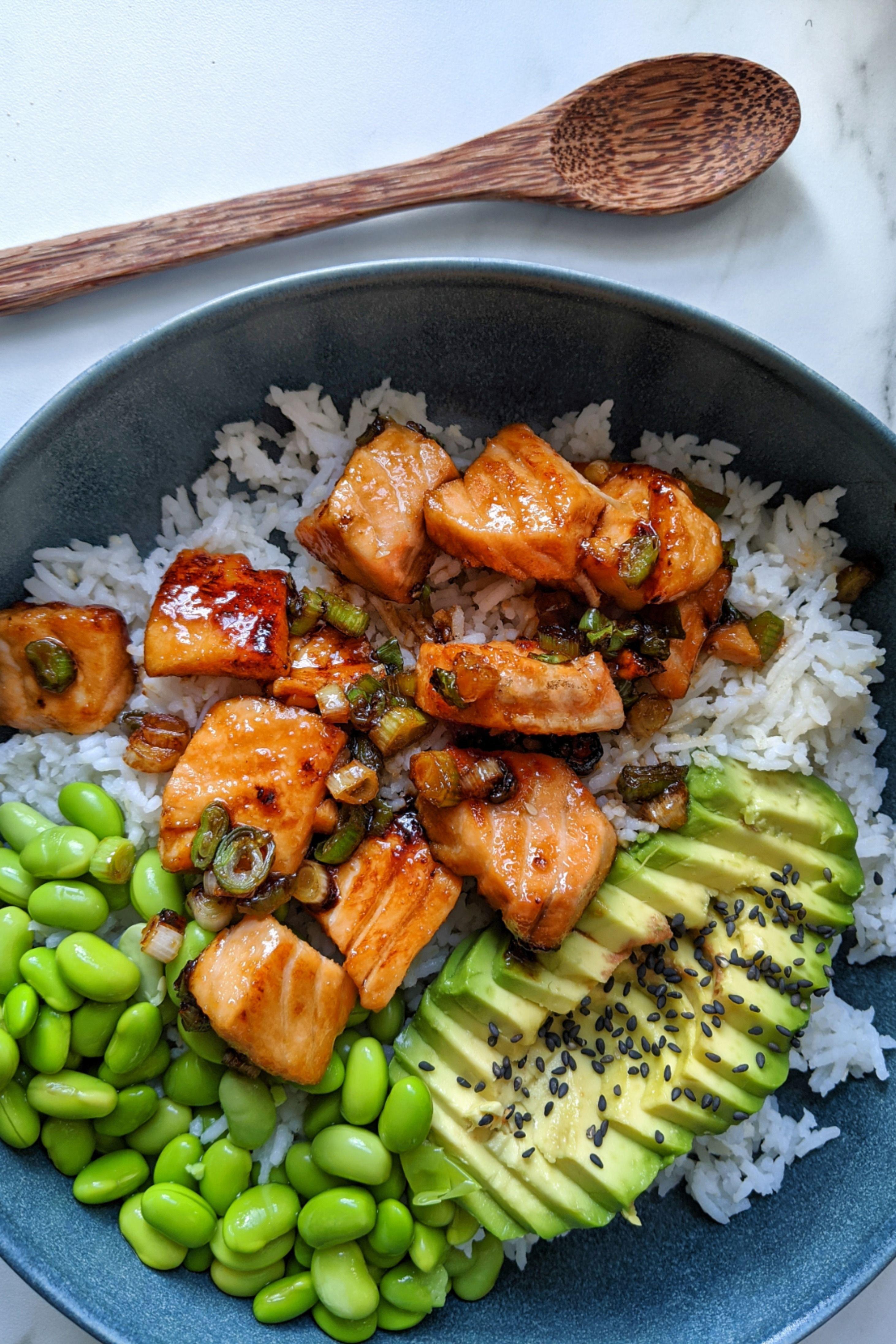 Photo of Teriyaki Salmon Sushi Bowl