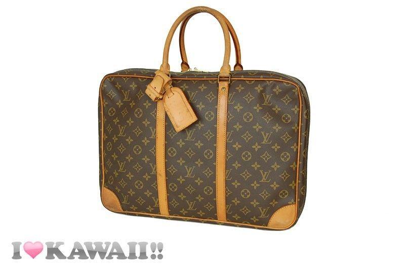 99651357a3f Auth Louis Vuitton Monogram Sirius 45 Travel Suitcase Luggage Bag Free  Ship!  LouisVuitton