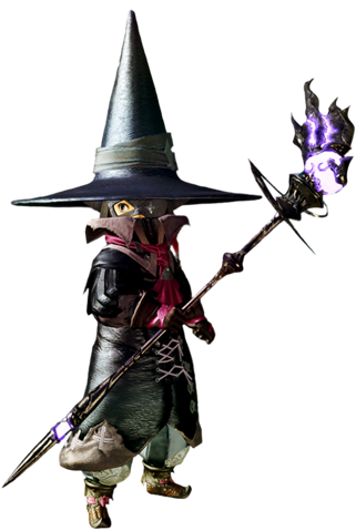 ARR Black Mage png | Holidays | Fantasy wizard, Black mage, Final