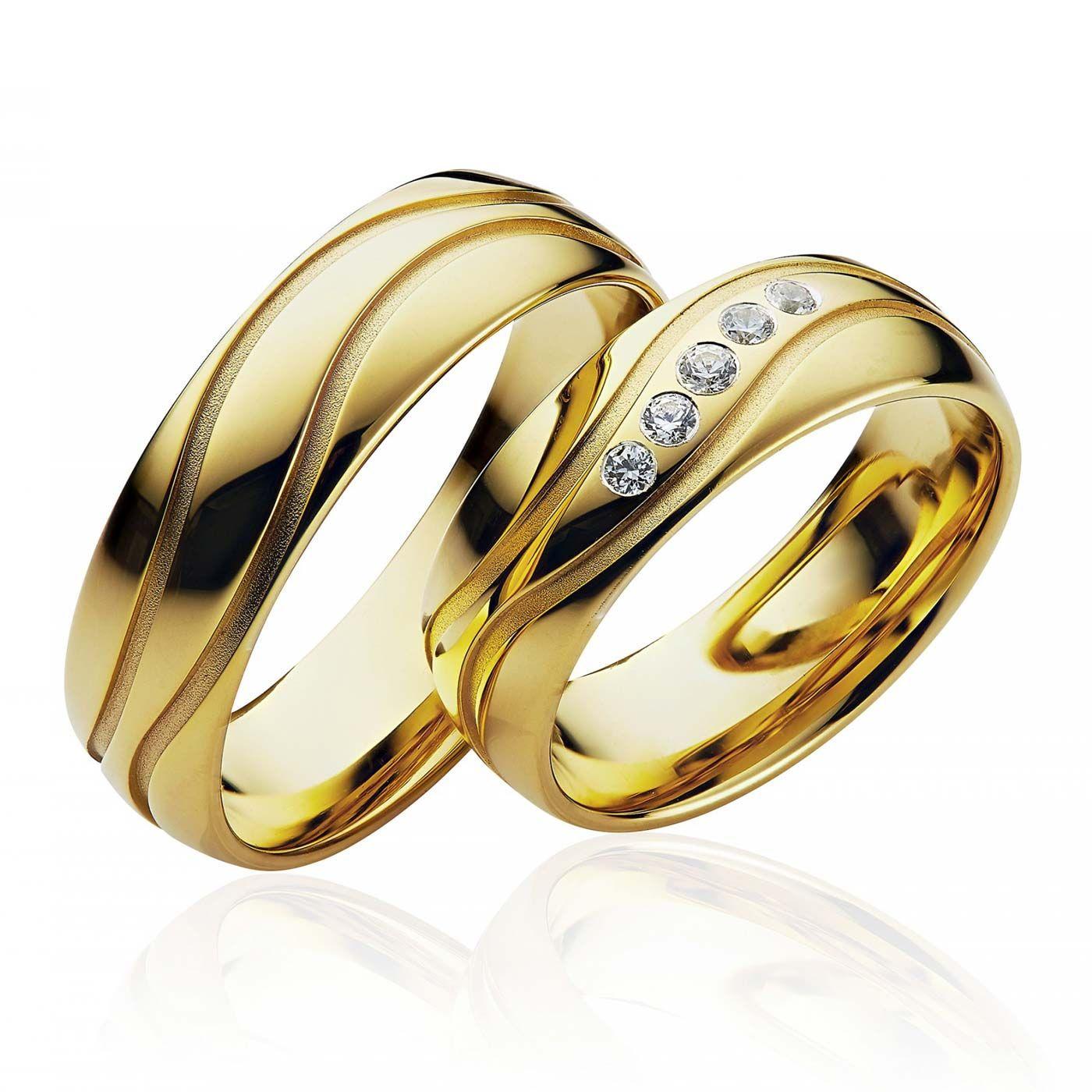 Gunstige Eheringe Gold Ein Wunderschones Ringpaar Fur Eure Trauung Gunstige Eheringe Trauringe Coole Trauringe