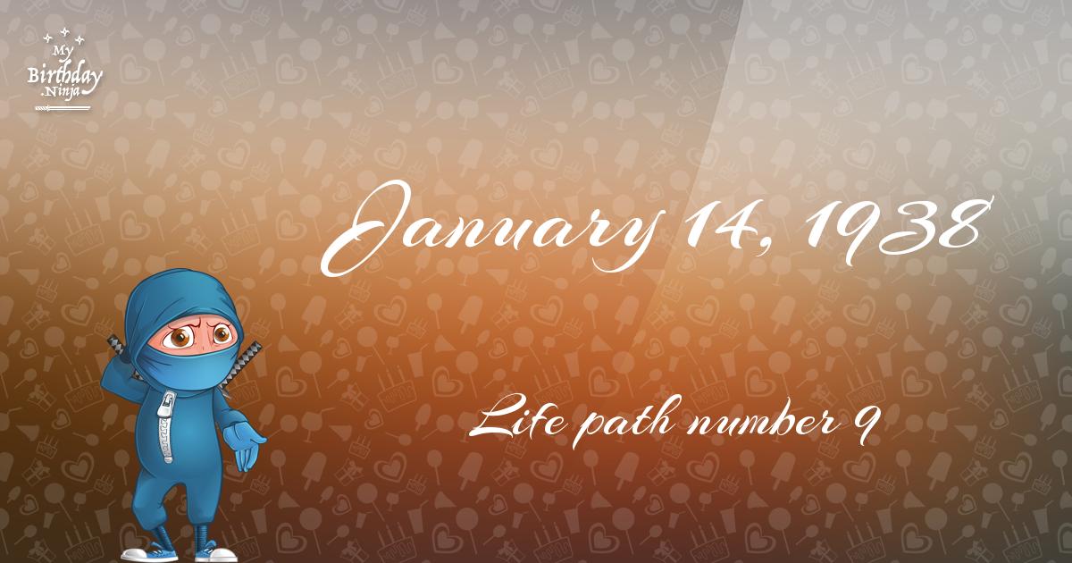 January 14, 1924 Birthday Facts