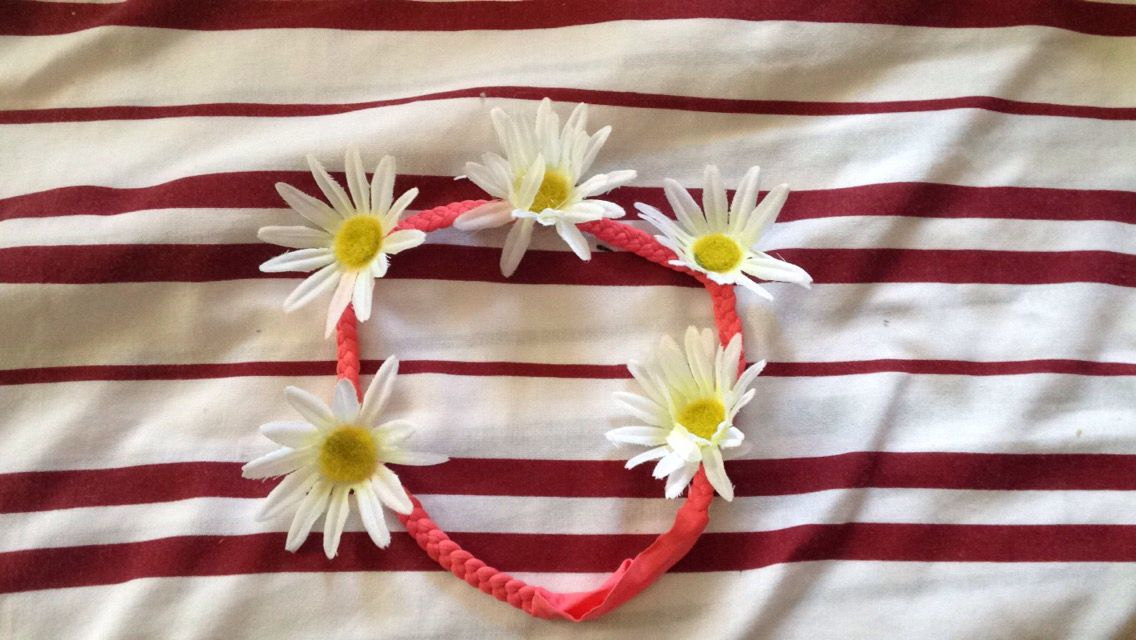 My Daisy Crown that I made