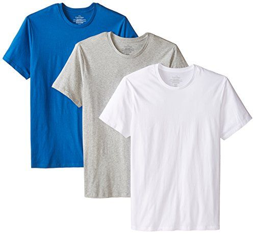 PRODUCT DETAILS : Crew neck t-shirtCK logo at left hemTag less3 per pack SPECIAL PRICE : $34.95