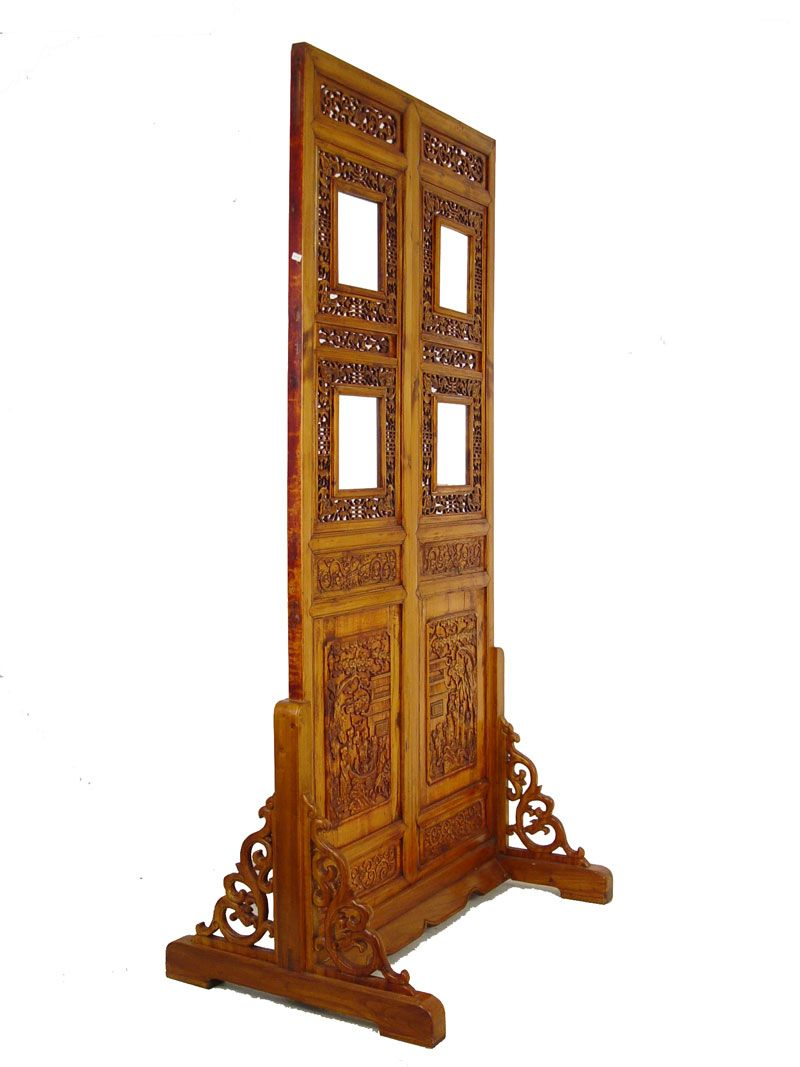 chinese screens room dividers | Chinese Antique Open Carved Screen ...