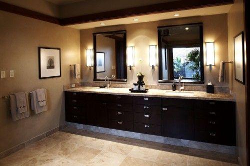 Master BA Vanity Bathrooms Pinterest Cabinet lighting, Bath